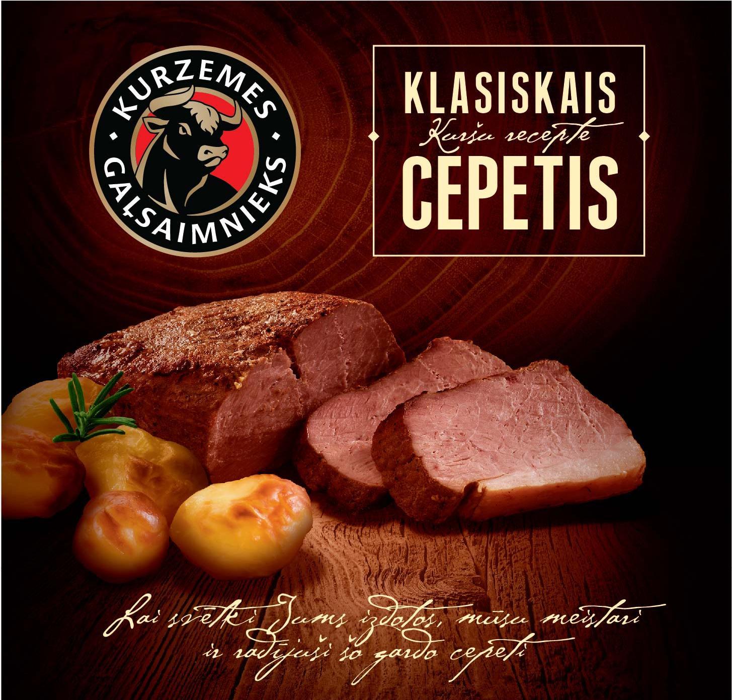 "Kurzemes Gaļsaimnieks cepetis ""Klasiskais"""